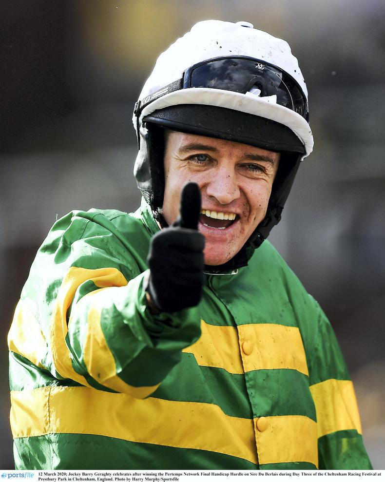THE WEEK THAT WAS:  Barry Geraghty among a golden group