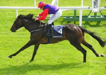 Romanised returns in style at the Curragh