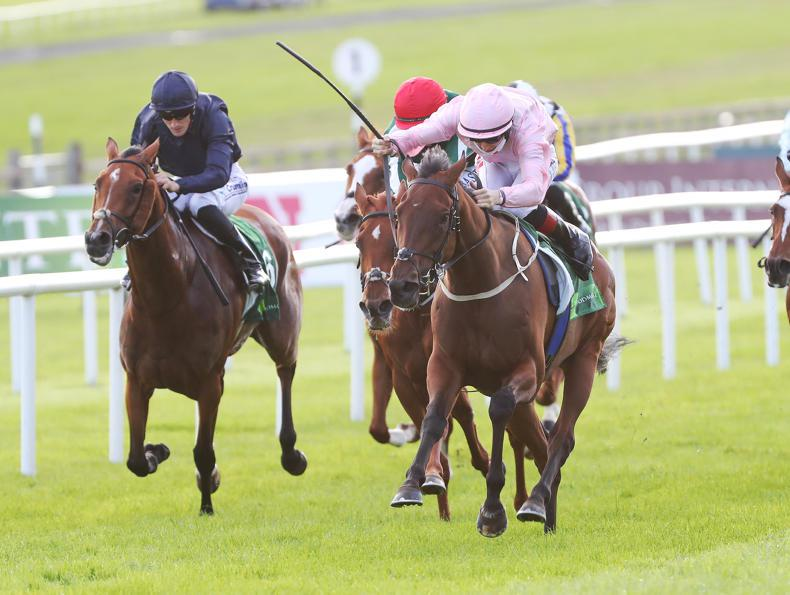 CURRAGH SATURDAY: Even So nabs Oaks for Lyons