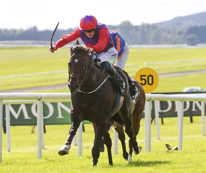 CURRAGH SATURDAY: Romanised shows electric turn of foot