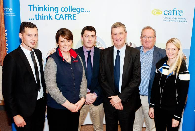 Large turnout at CAFRE for careers day