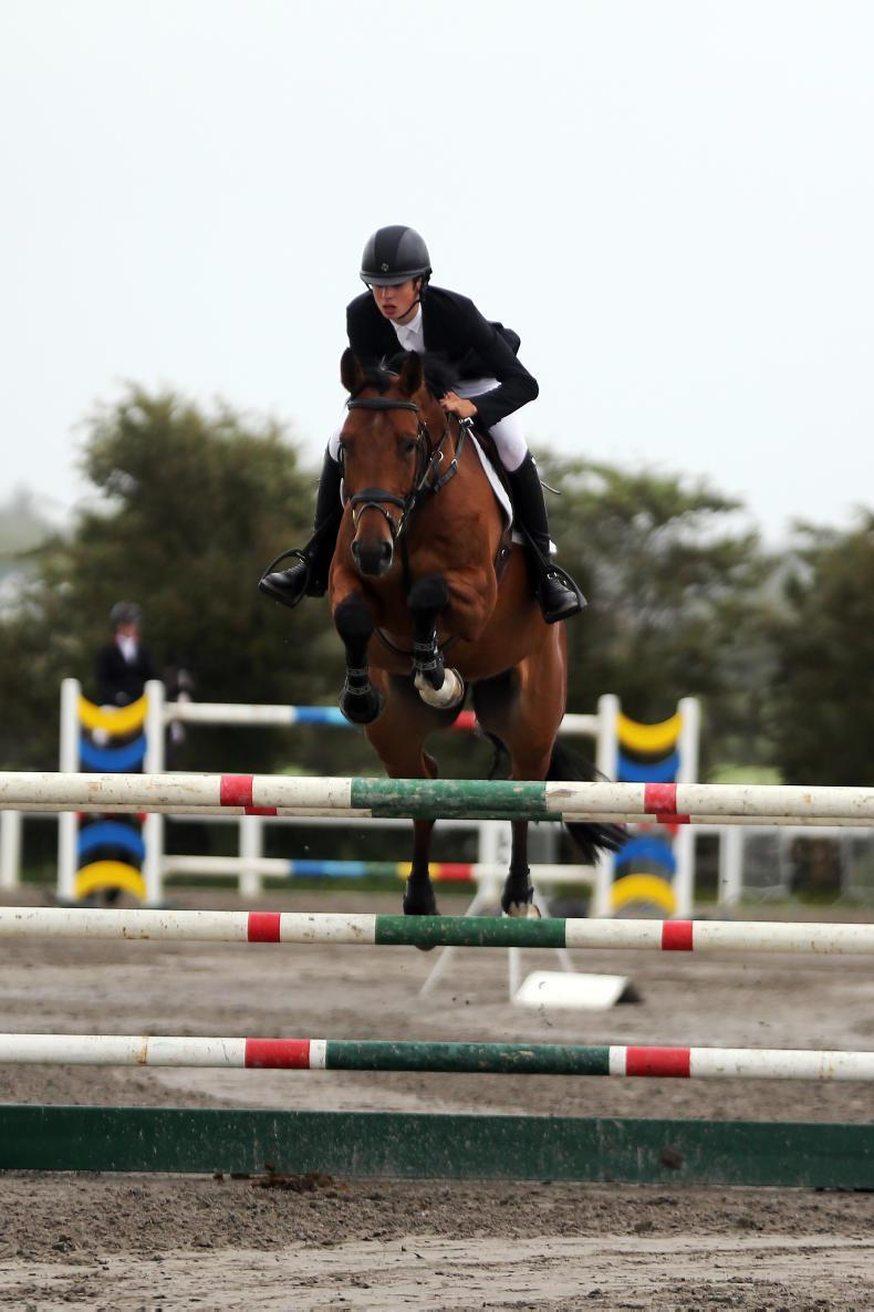SHOW JUMPING: McEntee does it again on HHS Vancouver