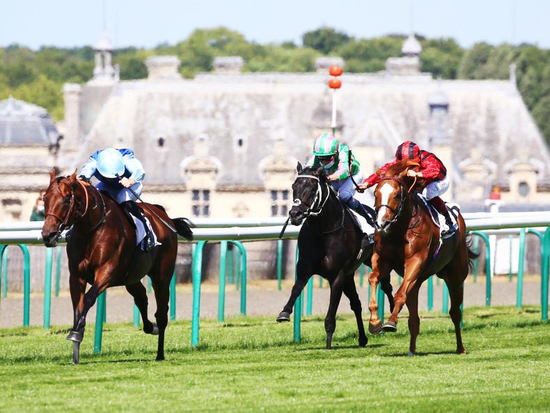 FRANCE: Persian King rules Chantilly