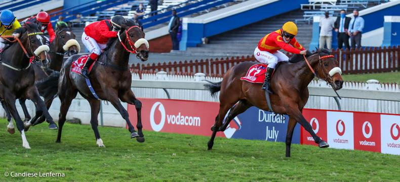 SOUTH AFRICA:  Belgarion brings Snaith fifth Durban success