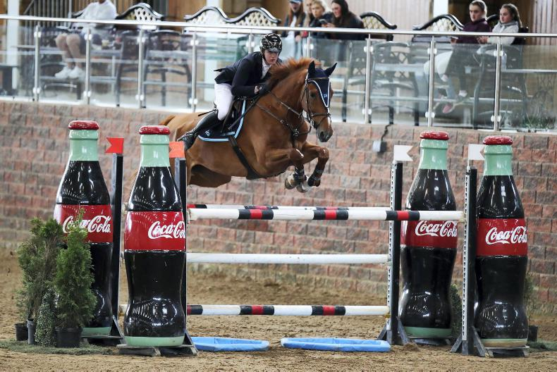 SHOW JUMPING: Crystal Tom seals victory for Smyth