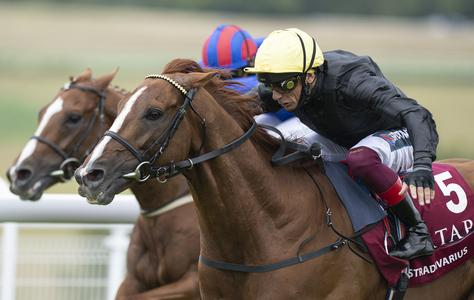 Stradivarius makes history with fourth Goodwood Cup victory