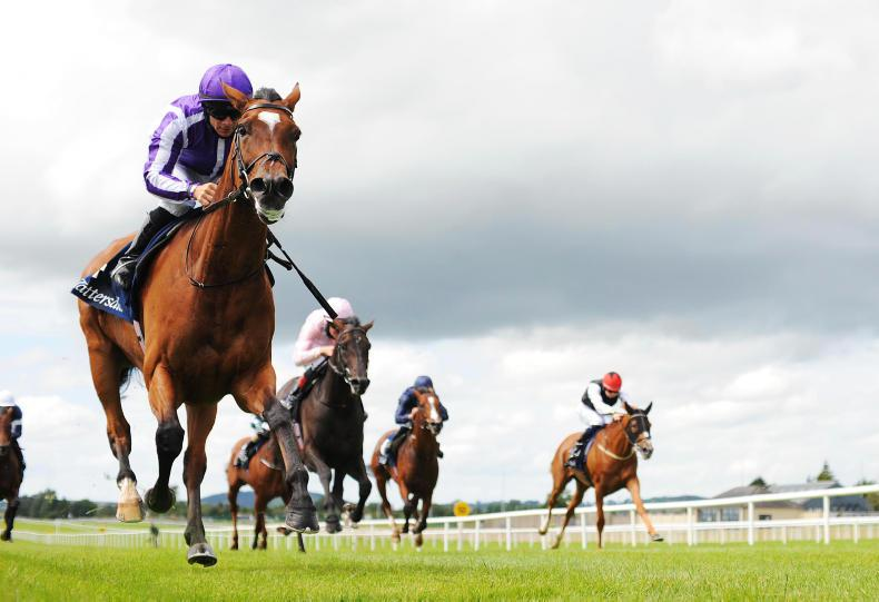 CURRAGH SUNDAY: Mighty Magical makes no mistake