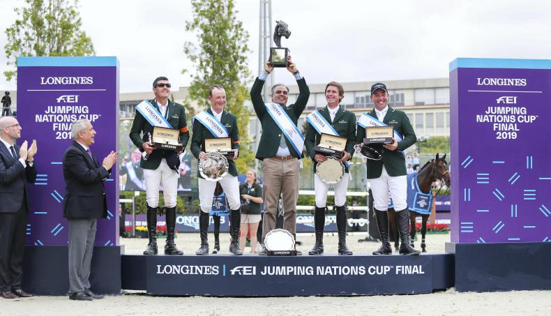 FEI Nations Cup Final cancelled for 2020