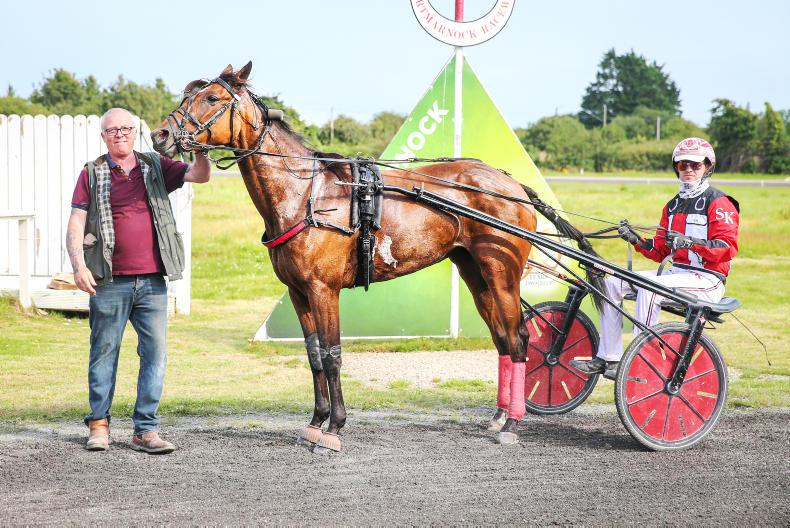HARNESS RACING: Feugeres good fortune for McTaggart