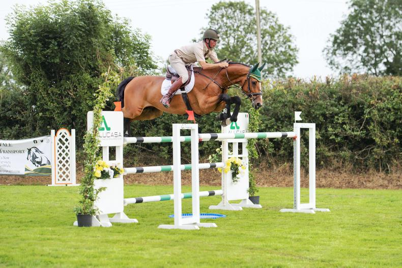SHOW JUMPING: Curran keeps the Tempo high at HHS