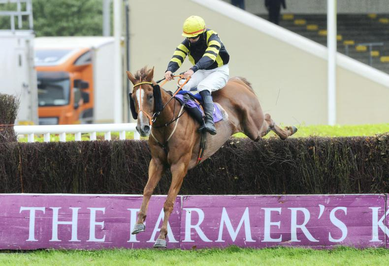 TRAMORE SUNDAY: Woodbrook Boy going for the hat-trick