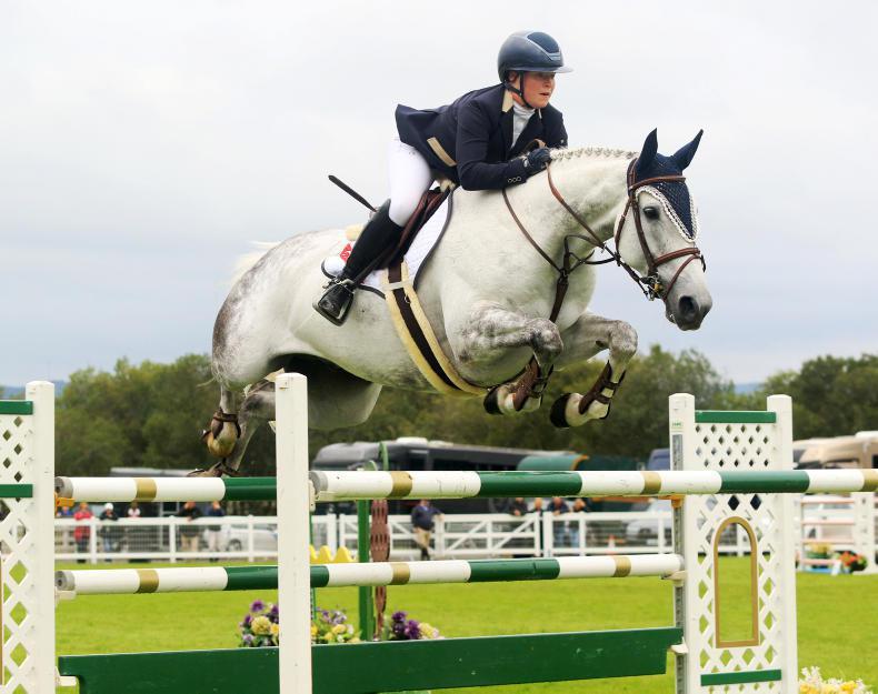 SHOW JUMPING: Derwin triumphs at Balmoral