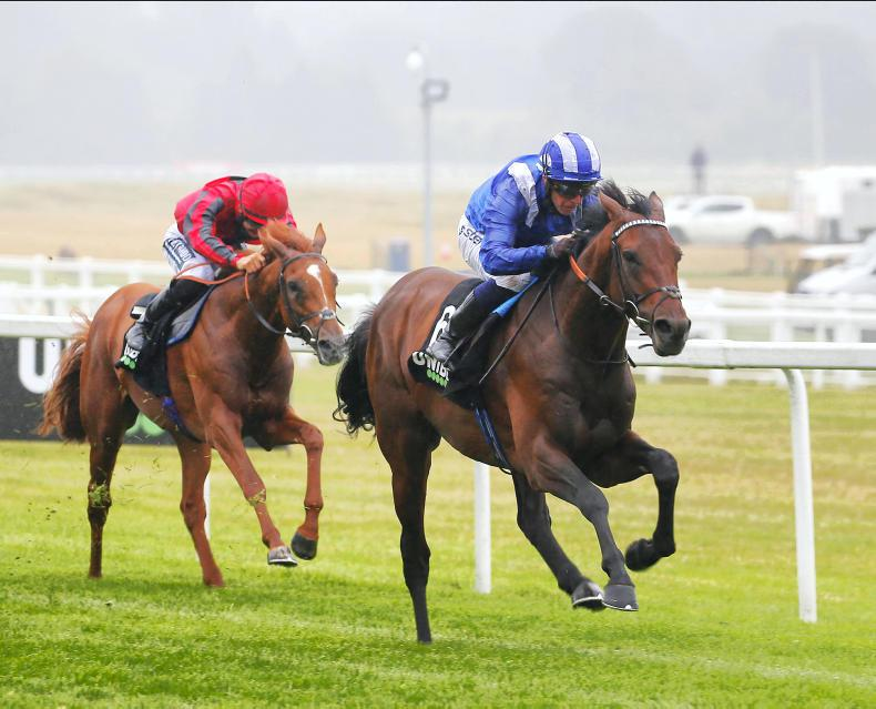 BRITAIN: St Leger bid up in the air for Hukum