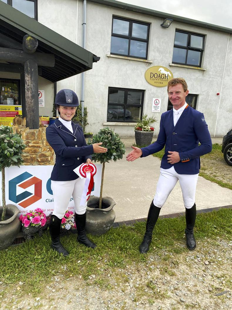 SHOW JUMPING: Dondoctro Ryal K does the business for Higgins
