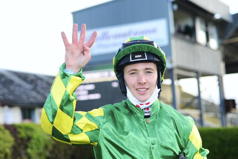 BELLEWSTOWN WEDNESDAY: Keane claims a fantastic four