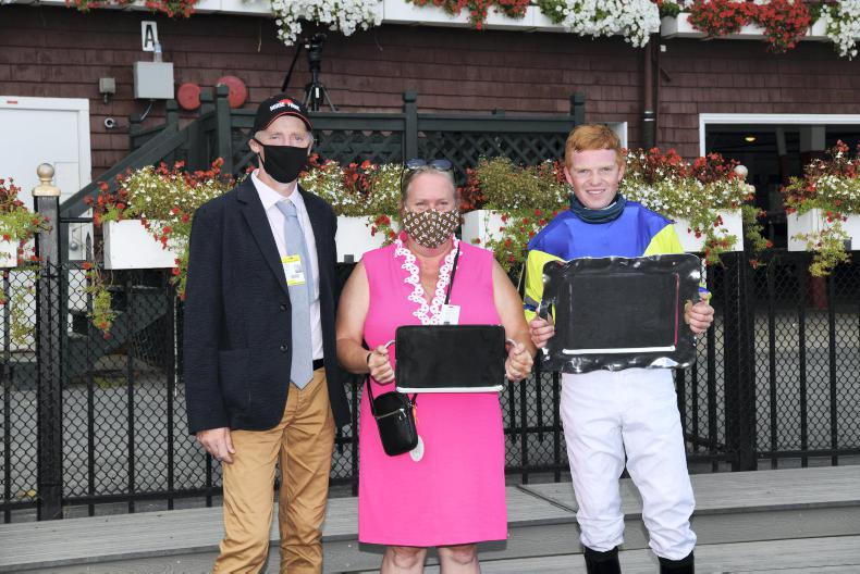 MARGIE McLOONE: Saratoga success for Young