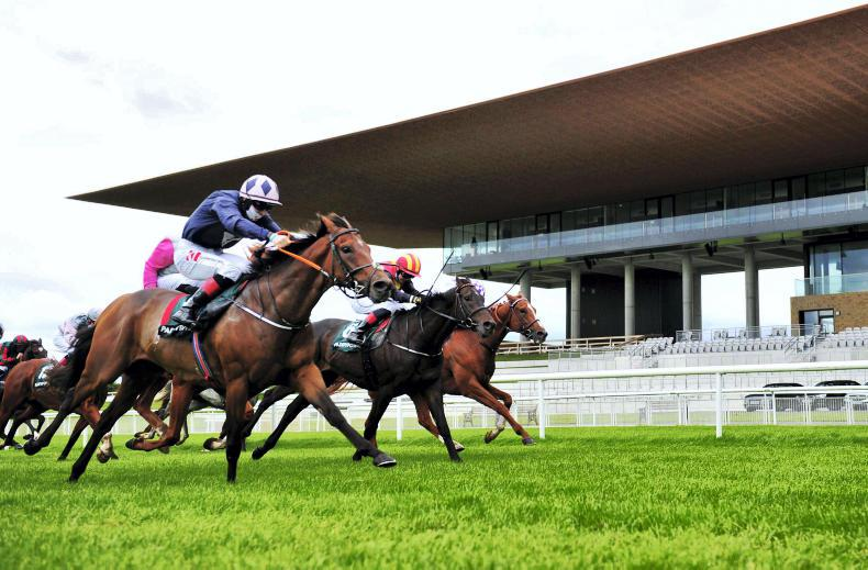 CURRAGH FRIDAY: Keanes all smiles with Laughifuwant