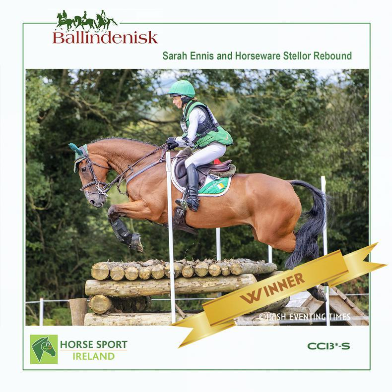EVENTING: Ennis triumphs at Ballindenisk