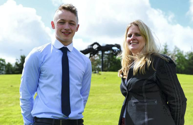 VIEW FROM ABOVE: Tarlach is off to foreign shores