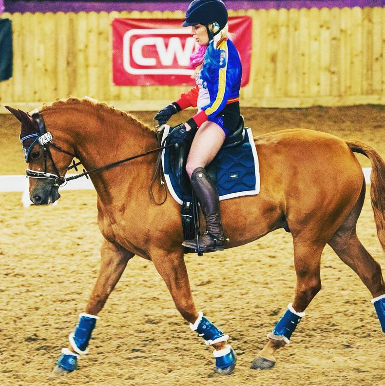DRESSAGE: McKeown and Gangster do the business