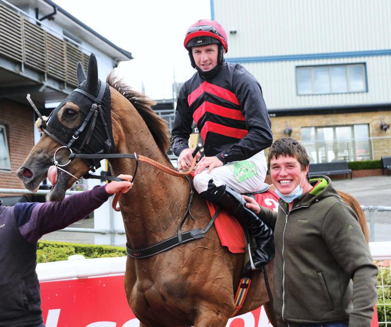 MARGIE MCLOONE: First track success for Turley