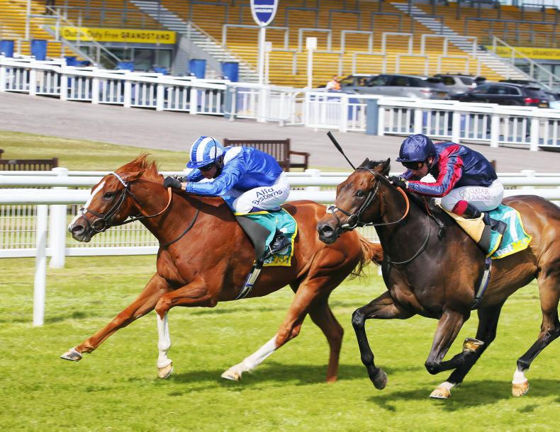 RACING CENTRAL: Burrows out to bank first Group 1