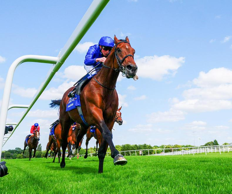 Ghaiyyath on course for Irish Champion Stakes