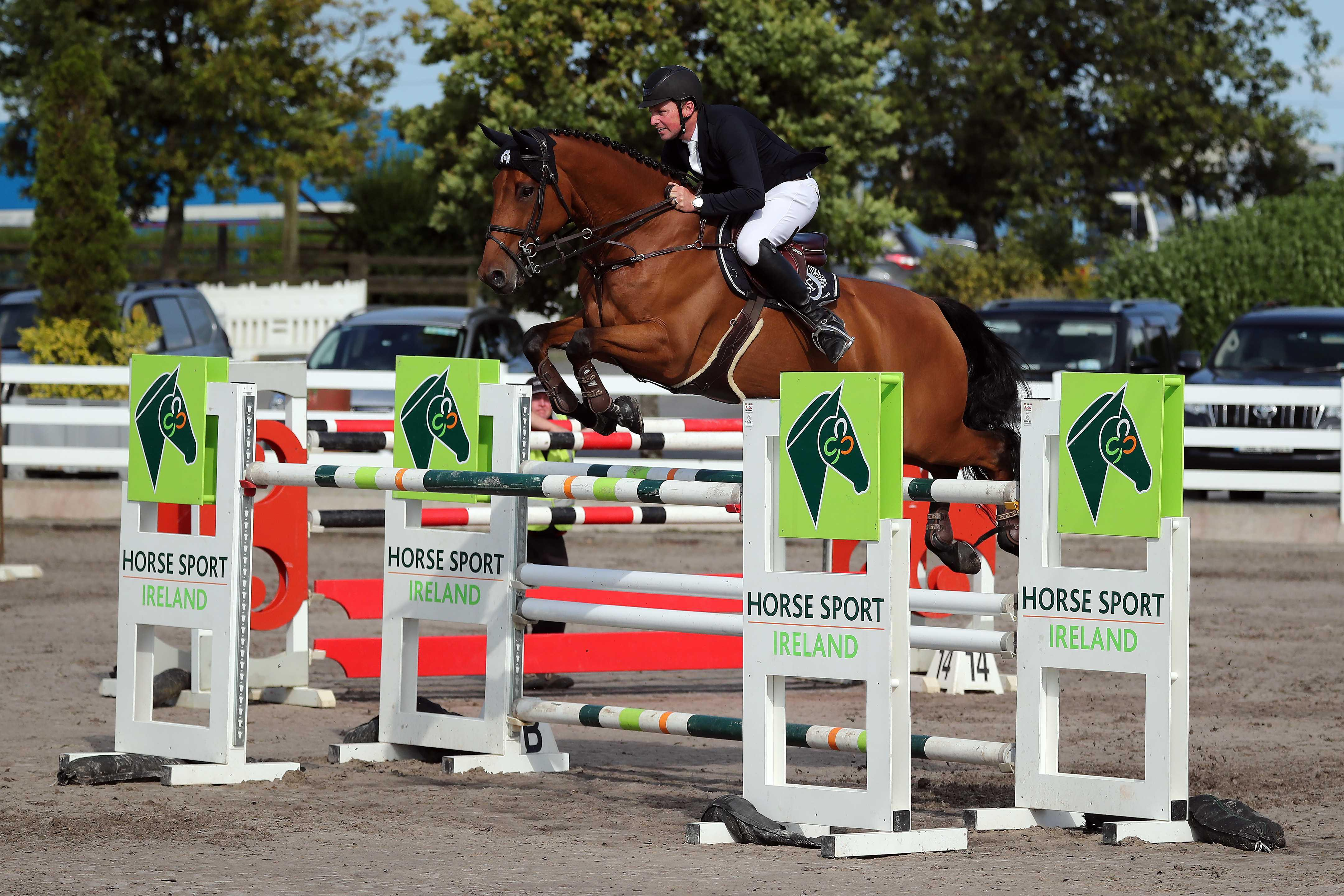 SHOW JUMPING: O'Neill gives it Wellie to win