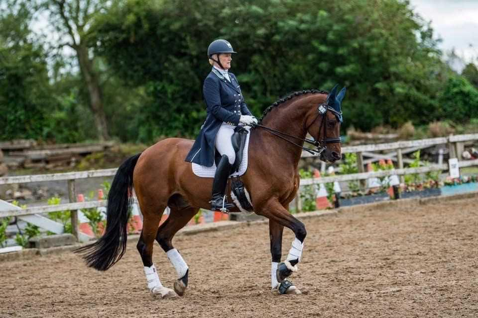 DRESSAGE: Mellor and Beaulero dance to victory