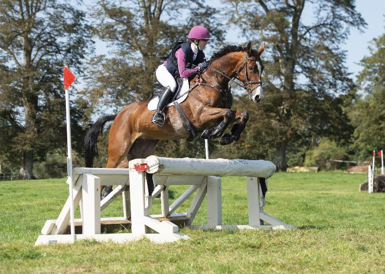 EVENTING: Competitive double for Burke