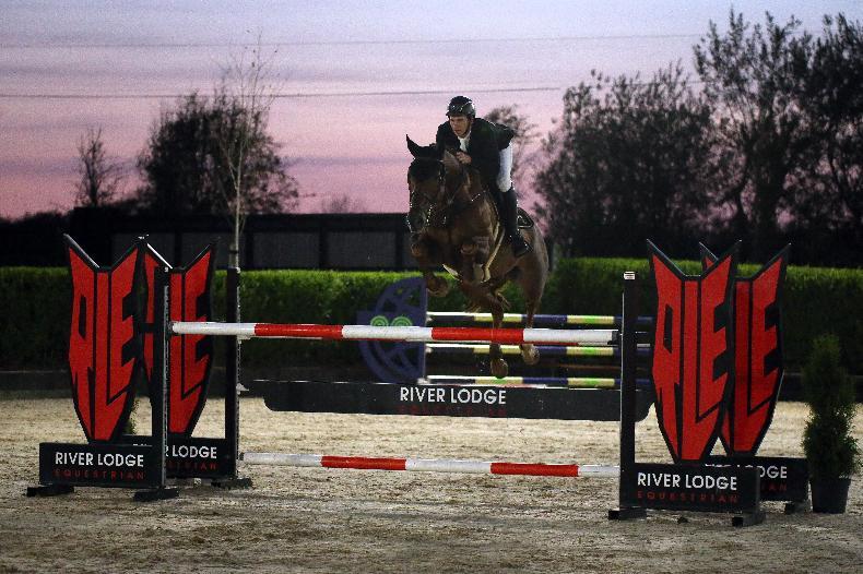 SHOW JUMPING: Derwin shows her class