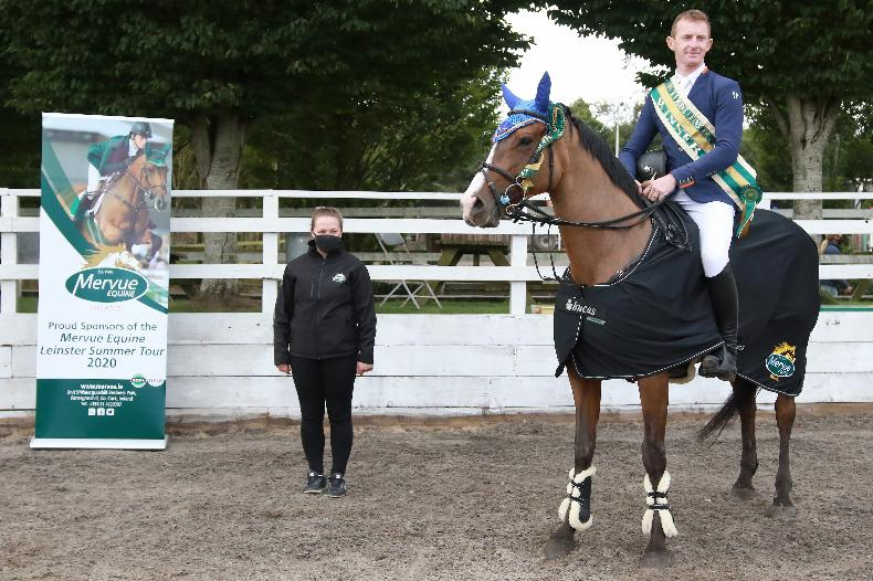 SHOW JUMPING: O'Donnell claims Mervue league title