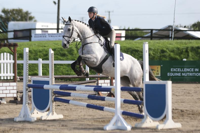 PONY TALES: Determined Aisling is jumping clear rounds