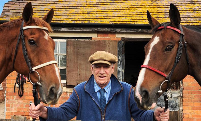 MICHAEL OLIVER: A lifetime supporter of Irish point-to-points