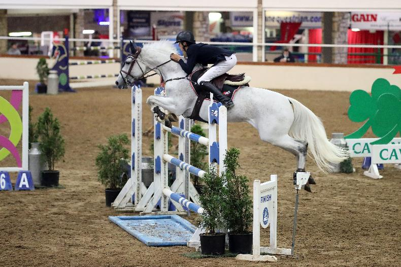 SHOW JUMPING: Classy double for McEntee