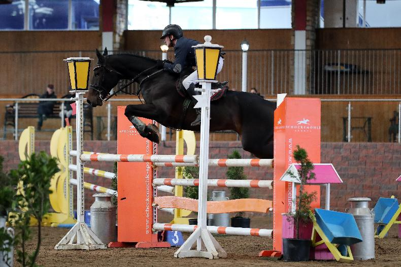 SHOW JUMPING: Carberry's still got his speed