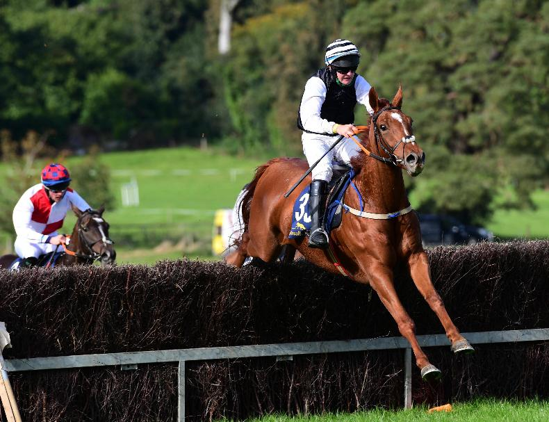 MONKSGRANGE SUNDAY: Paloma Dove gallops challengers into the ground