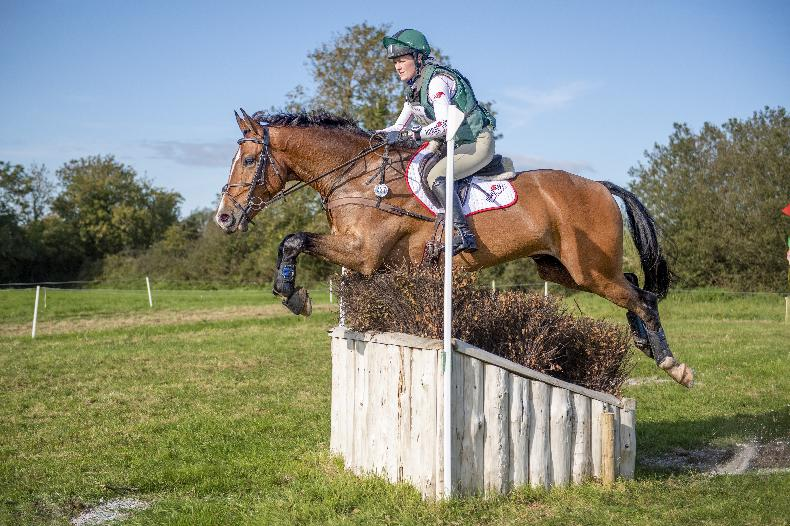 BALLINDENISK INTERNATIONAL: Mr Mighty lives up to his name for Abbott