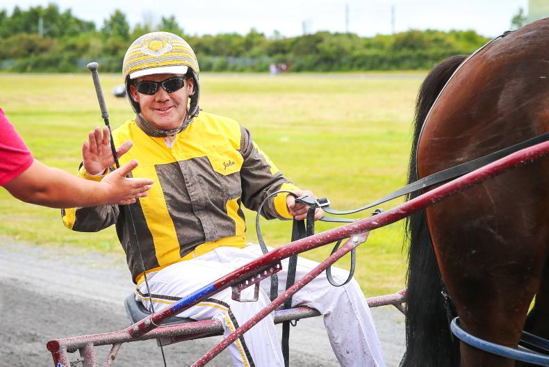 HARNESS RACING: JR scores with four