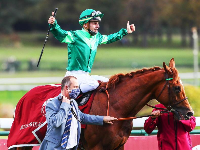 Sottsass heading to stud after Arc success