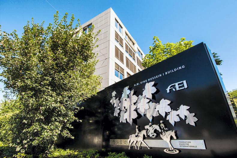 NEWS: FEI suspends UAE federation