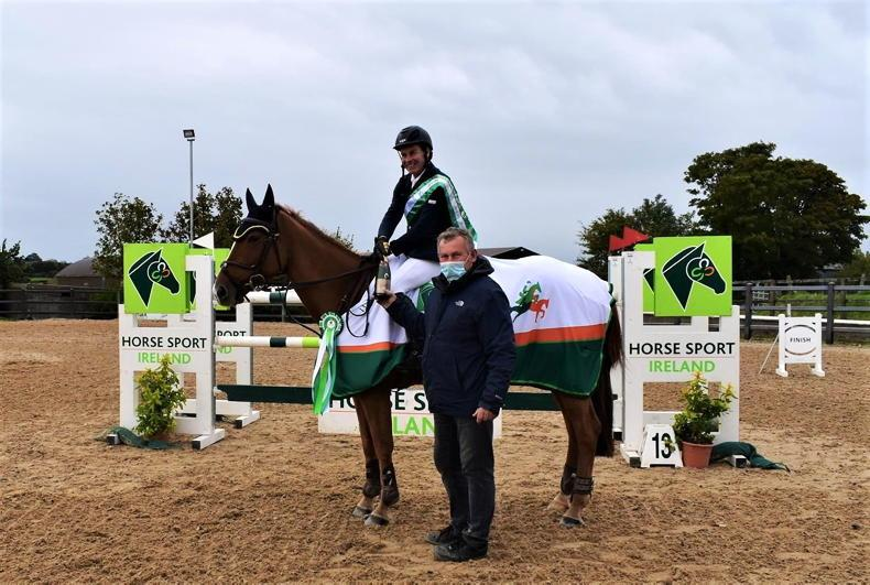 SHOW JUMPING: Victory for Gaw at Kernans