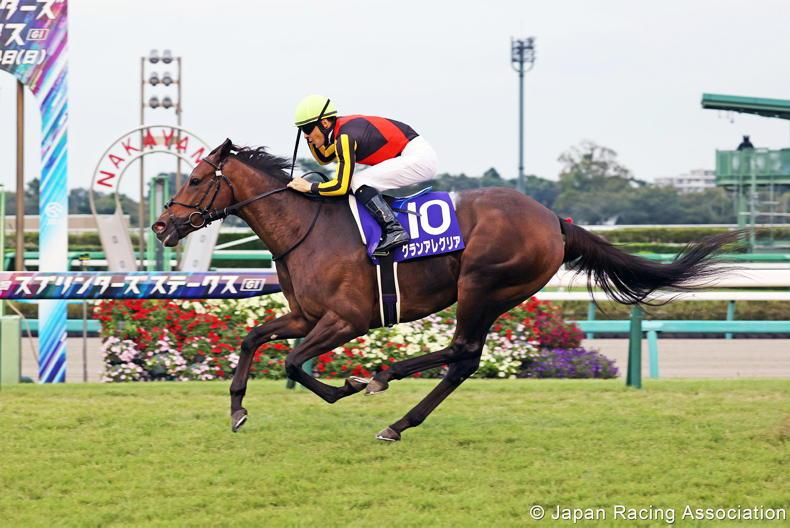 JAPAN: Gran Alegria storms home in the Sprinters Stakes