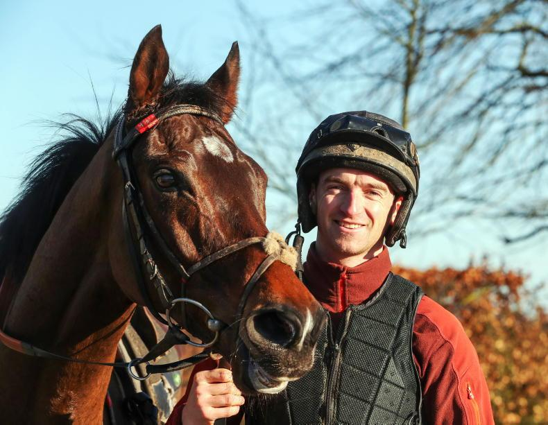 TALKING TRAINER: Willie and Patrick Mullins