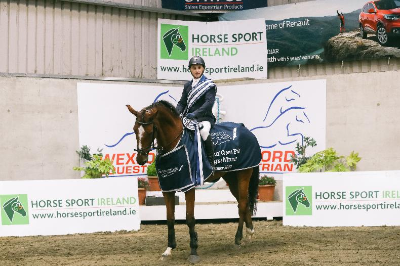 SHOW JUMPING: McConnell clinches champion title