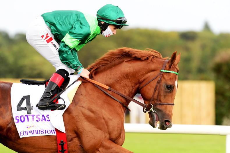 NEWS: Sottsass success lifts Irish Champion Stakes