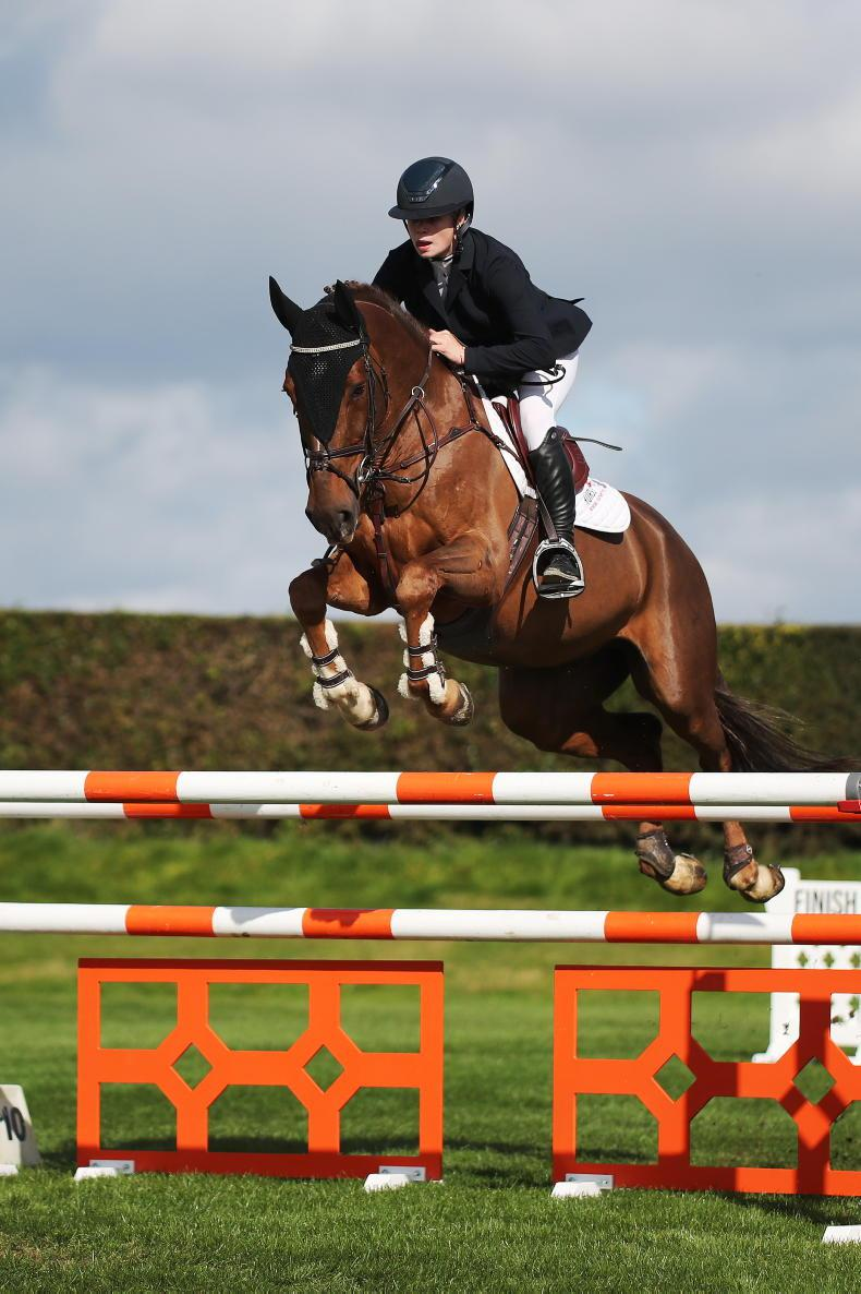 SHOW JUMPING: More success for Emma and MHS New York