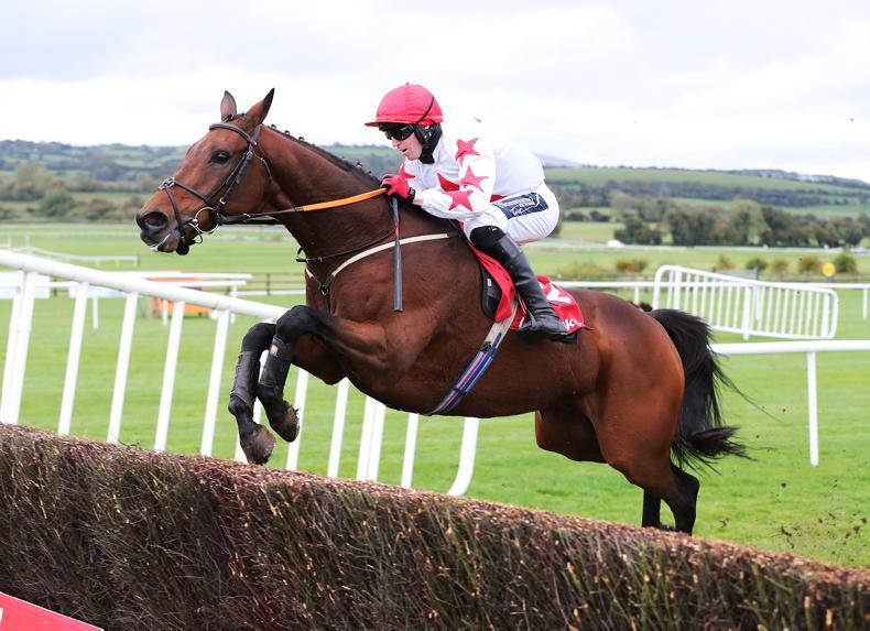 PUNCHESTOWN TUESDAY: Daver's Star rises over fences