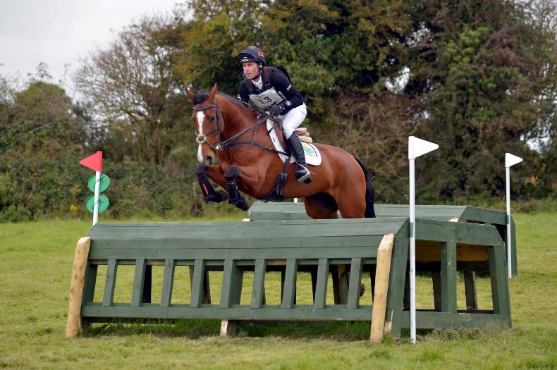 EVENTING: Murphy dominates with treble