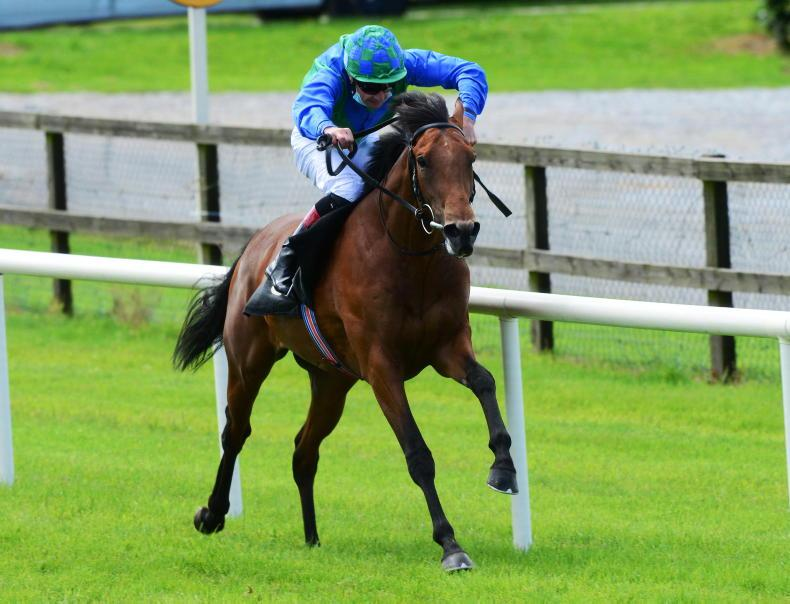 NAAS SUNDAY: Snapraeterea's turn in front